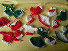 Bags, Stockings, Hats  P&P Free Christmas Card Embellishments / Toppers