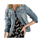 Next Denim Ladies Jacket 1982 100% Cotton Washed style £35 RRP Brand NEW 80017B