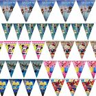 FROZEN ELSA MINIONS THOMAS TANK ENGINE SPIDERMAN CARS KITTY PARTY FLAGS BUNTING