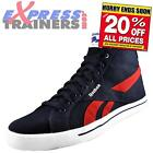 Reebok Mens Royal Complete Mid Hi Top Casual Trainers Navy UK 11 *AUTHENTIC*
