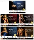 Sexy Bachelorette Naughty Pin-Up Goddess Guys Temporary Tattoos Female Hen Night