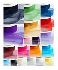 WOVEN EDGE ORGANZA RIBBON CUT LENGTHS 7mm 15mm 25mm 38mm