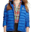 POLO RALPH LAUREN $225 RLX Explorer Blue Quilted Down Jacket Coat Packable NEW
