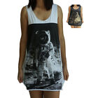 Astronaut Vest Tank-Top Singlet (Dress T-Shirt) Sizes S M L XL