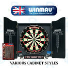 Winmau Professional Dart Set - Pro SFB Dartboard - Darts and Choice of Cabinet