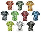 Badger Boys B-Core Youth Digital Camo T-Shirt, Camouflage, Dry wicking  (2180)