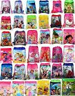 Boys Girls Drawstring PE Gym Toy Beach Party Book Bag Avengers Minions Frozen