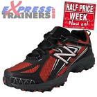 New Balance Mens All Terrain Mt411 Trail Running Shoes (red) Authentic