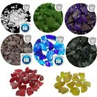 Decorative Glass Chippings Pebbles Graves Garden Paths Photo Display Plants