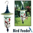 Hanging Wild Bird Feeder Seed Nut House Garden Table Outdoor Feeding Station NEW