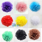 "11 Colors 5 Lots 6"" 8"" 10"" Tissue Paper Pom Flowers Ball For Wedding Party Decor"