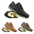 Mens Lace Up Casual Gym Sport Walking Hiking Running Driving Trainers Shoes Size