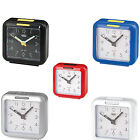 Trevi Retro Bedside Travel Alarm Clock With Snooze Function FREE DELIVERY