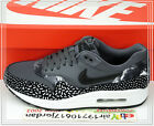 2015 Nike Wmns Air Max 1 Print Dark Grey Black White 528898-001 US 6~8.5 NSW 1