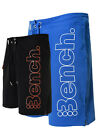 Mens Bench SwimShorts | Halkman | Black & Blue | Was £29.99
