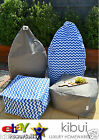 Super Comfy OUTDOOR INDOOR BEAN BAG OR OTTOMAN Extra Large Anti UV 30+ Kibui New