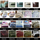 Printed or Jacquard Easy Care Quilt Duvet Cover Set by Homeport Deco QUEEN KING