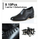 Elastic No tie shoe laces for Mens Womens Oxford Dress shoes Brogue Sneakers lot