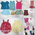 Baby Girl 30 pc Summer Clothes Lot Size 6-9 Mo Gap Gymboree TCP Carters NWT EUC