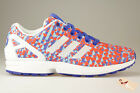 ADIDAS ZX FLUX WEAVE TECHNICOLOR Baskets Hommes ZX 8000 OPRANGE Sneakers taille