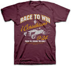 New Christian Kerusso T-Shirt Adult Mens RACE TO WIN Car Racing Faith Scripture