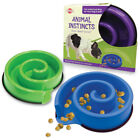 """Spot Ethical Animal Instincts Slow Feed Bowl 10""""-Green Free Shipping"""