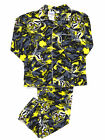 Mens AFL Licensed Flannel 2pc PYJAMAS Pjs RICHMOND TIGERS Sz S M L XL