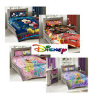 Disney Princess/TinkerBell/Cars/Mickey Kids Comforter Bed Set 3pcs Twin Size