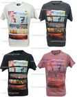 Reduced!! Mens DL Project HOLLYWOOD Graphic Print Short Sleeved Summer T Shirt