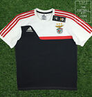 Benfica Training Top - Adidas SL Benfica Shirt - White/Red/Black - All Sizes