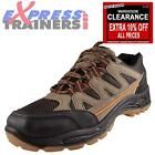 Premier Mens Glensdale Hiker Lace Outdoor Hiking Walking Shoes Brown *AUTHENTIC*