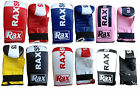 Punch Bag Mitts Bag Gloves MMA Training Gloves Rex Leather Mitts ADULTS R A X