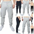 New Mens DLX Project Jogging Cargo Fleece Bottoms Joggers Casual Trousers Pants