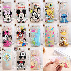 NEW Ultra Thin Cartoon Princess Transparent TPU Soft Case For iPhone Samsung