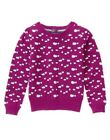 GYMBOREE BUNDLED & BRIGHT MAGENTA w/ SHEEPS A/O SWEATER 7 8 NWT