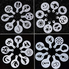 New 8pcs Kit Coffee Latte Art Craft Mould Utensil for DIY Cappuccino Moka Decor