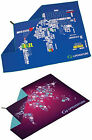 Lifeventure softfibre trek backpacking travel quick drying towel (world map)