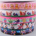 "5Y 7/8"" grosgrain ribbon bows flowers cartoon animals DIY craft appliques RG031"