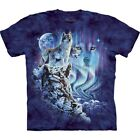 The Mountain Brand Find 10 Wolves Wof Puzzle T-Shirt S-5X
