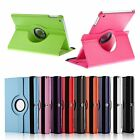 Colorful 360 Rotating PU Leather Case Cover Stand for Samsung Tablet Apple iPad