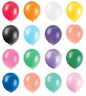 "10"" Pearly Party Balloons Decoration Wedding Birthday  Choose In 11 Colour"