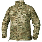 Helikon Alpha Tactical Mens Jacket Grid Fleece Army Combat Hunting Camogrom Camo