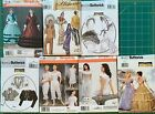 Historical Costume Sewing Patterns Size and Style Options Uncut