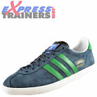 Adidas Originals Mens Gazelle OG Classic Retro Trainers Green * AUTHENTIC *