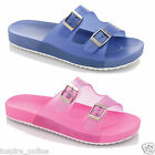 NEW LADIES WOMENS FLAT GIRLS RUBBER SUMMER BEACH FLEXI FLIP FLOPS SANDALS SHOES