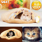 Super Soft Warm Winter Pet Dog Cat Puppy Kitten Cave Bed House Igloo Nest