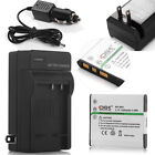 NP-BN1 Li-ion Battery or Car Home Charger For Sony Cyber-shot Camera NPBN1 TYPE