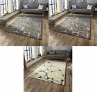 Spectrum Hand Tufted Arrows Stars Rug 100% Wool Modern Geometric Large Floor Mat