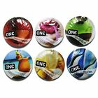 ONE CONDOM FLAVOR WAVES LATEX LUBRICATED STUDDED CONDOMS