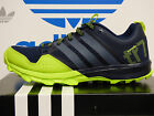 NEW ADIDAS Kanadia 7 Men's Running Shoes - Navy/Slime;  B40100